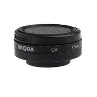 Wholesale 37mm Camera Filters Adapter Glass UV Lens Protective Cap for Camera Gopro Hero D1127