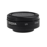 Circular camera filter lens adapter - 37mm Camera Filters Adapter Glass UV Lens Protective Cap for Camera Gopro Hero D1127