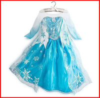 TuTu Summer Pleated Children's Dresses summer dress 2014 girl party dress anna princess costume baby girls elsa dress tutu pink new frozen dress 10pc lot melee