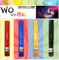 Wholesale 20PCS Laser mw nm High Power Laser Pointer Pen Green Red stars laser pen High power variable focus match Lighter A