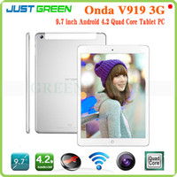"Under $300 Onda 9.7 inch Onda V919 3G Phone Call Tablet PC MTK8382 Quad Core 9.7"" IPS Screen Android Tablet free post"