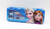 Wholesale New kids frozen learning items for Students anna elsa cartoon pencil cases ruler sharpener pencils Office amp School Supplies stationery set