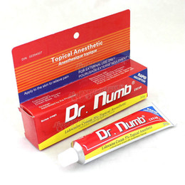 Wholesale New Arrival g DR Numb Anaesthetic Cream For Tattoo Body Piercings Waxing Laser Makeup EMS Free