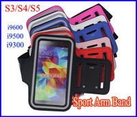 Wholesale Universal Running Sports Gym Armband Waterproof Arm band Pouch for Samsung Galaxy S5 i9600 S4 i9500 S3 i9300 Leather Belt Clip Case