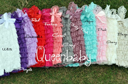 Lace Petti Romper Lace Romper Girls Romper Baby Romper Ruffle Romper Baby Birthday Outfit 48PCS LOT