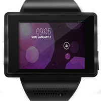 Wholesale New Android Smart Watch Mobile Phone Quad Band WiFi Bluetooth USB