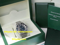 Wholesale Men s Luxury Watches STEEL SEADWELLER Sea Dweller Ceramic MODEL with original box papers AAA quality Automatic Mens Watch