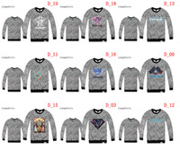 Wholesale 2014 New design HOTTEST Longshirts Colorful Diamond Hoody Cheap Sweatshirts hip hop Mens hoodies popular Upper men s Hoodies Size S XXL
