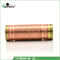 Vanilla Mod red copper 22 mm Newest mod 1:1 clone full Copper Vanilla Mod 4nine cig vaporizer pen ecig VS stingray stainless nemesis 26650 panzer and kayfun atomizer