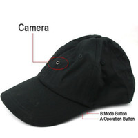 Wholesale Multi Function Cap Camera Baseball Hat Camera Video Recorder Music Player Bluetooth Option RemoteControl Pairing type Hot Sale