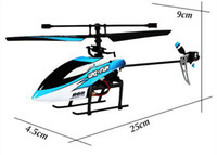 Electric 2 Channel 1:4 4 Ch 2.4ghz single-propeller 100 m controlling the left hand switch radio remote control helicopter free shipping