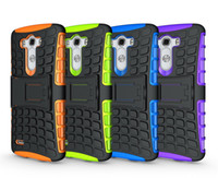 Plastic armor book - Book Heavy Duty Rugged Dual Layer Impact Armor Robot KickStand Case Cover For LG G3 D850 For LG G2 D820 FOR LG G2 mini D620