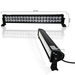 1pc 22 inch 12V 120W led off road light bar for trucks tractor ATV spot flood combo offroad 4X4 120W led light bar lightbar led