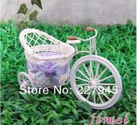 Wholesale Freeshipping Big round he small rattan basket containers flower container flowerpot flowerpot bicycle