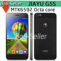 Wholesale Original Phone JIAYU G5 MTK6589T Quad Core JIAYU G5 Advanced JIAYU G5S GB GB MTK6592 Octa Core Android Cell Phone