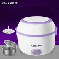 cook ,heat, keep warm 200W 220V Electric cooker Mini electric warm heated lunch box Rice Cooker free shipping