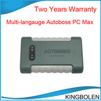 Wholesale 2014 Hot Selling Autoboss PC MAX wireless automotive programmer diagnostic scanner Autoboss PC MAX VCI Two years warranty