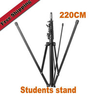 Wholesale Photo Studio Lightweight Flash Bracket Collapsible Light Stand cm Portable sections Students Light Stand