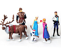 2014 New 60 Pieces lot 5- 11cm High Frozen Snow Adventure fro...