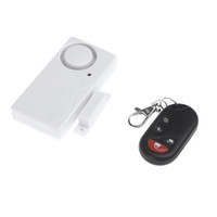 Wholesale Door Window Remote Control Smart Home Security Alarm Warning System with Magnetic Sensor Alarm Wireless Siren Detector Alarme S237 DHL Free