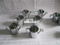 Wholesale Mini Small Small Watering Can Sharp pure garden bucket tin box lron pots flower east eggs pot METAL