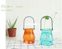 Pots Guangdong China (Mainland) OEM Wholesale-Free Shipping Lantern Flower Pot Glass Garden Pot Cork Bottles Water Jar korean Stationery wholesale