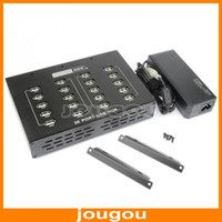 Wholesale 20 Port USB Hub With Power Adapter High Performance And Stability V AC Hz A A Black Free DHL FEDEX Shipping
