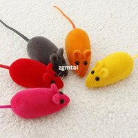 Wholesale Details about x Pet Cat Dog Kitten Play Playing Toy False Mouse Rat Squeak Noise Sound Funny G691