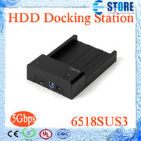 Wholesale ORICO SUS3 inch SATA HDD Docking Station Usb HDD External Hard Drive wu