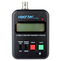 Wholesale LCD Display MAXTON X100 Handheld Frequency Counter MHz GHz For Two Way Radio Wireless Frequency Detection and Regulation Device J6134A