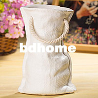 Wholesale Flower vase home decoration Flower Pots fashion brief handle long pocket novelty shape vase ceramic flower pot new design