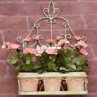 Wholesale Spring New Home Decoration Fresh Garden Artificial Flower Pots amp Planters Hanging Flower Basket set