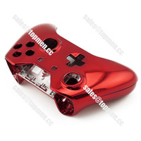 For Xbox Wireless Controller Force Feedback Chrome Red Color For Xbox one Replacement Controller Shell