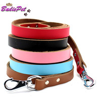 daily use best leather leashes - Retail Genuine Cow Leather Best Quality Dog Leashes Dog Leads Colors amp Sizes Available off for