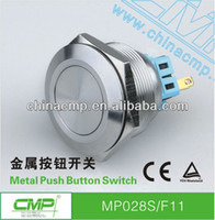 Push Button Switches MP028S/F11/B11/H11 Stainless steel Free Shipping DHL UPS export waterproof IP67 Metal push button switch(vandal resistant, stainless steel ,momentary)