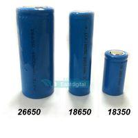 Wholesale 18350 battery mah battery2000mah battery mah for K100 K200 ego vv Vmax Telescope Lavatube Vase Tumbler Stingray Hades Mod