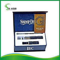Single Blue Metal Snoop dogg herbal vaporizer E cigarette Wax Dry herb Electronic cigarette snoop dog kit wholeale DHL free shipping
