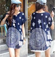tunic shirt - New Women fashion tunic t shirt summer batwing sleeve big plus size loose clothing tee tops t shirt xxxl G0544