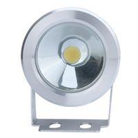 Wholesale 10W V LED Flood Lamp Waterproof Underwater Light Fountain Poor Landscape Lighting LM Warm White White Flat Lens IP65 H9669
