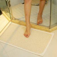 non slip bath mat - Bathroom Safety Carpet PVC Bath Shower Rug Anti slip Bath Massage Mat Rugs Tapete with Non slip Suction Cup Tapete Banheiro Rug H10972