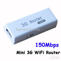 Wholesale Mini Wireless G Router Portable WiFi Hotspot AP Router Mbps Support RJ45