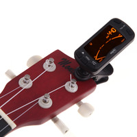 Wholesale Musedo Clip on Electric Tuner and Metronome Guitar Parts Chromatic Bass Violin Ukulele Universal Multifunction Portable I325