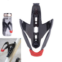 Water Bottles Cages aluminum bottle cage - 2014 New Mountain Road Bike Bicycle Cycling Plastic Water Bottle Holder Rack Cage H10916