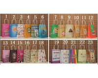 Cheap Free Shipping!15 Colors 21*13*8 cm Paper Gift Bags with Twisted Twine Handles, Birthday Gift Bags, Party Favor Treat Bags, 20pcs
