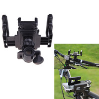 Wholesale 2014 New Universal Degree Rotating Mountain Road Bike Bicycle Phone Holder Stand Mount Bracket for iPhone Samsung Cellphone H10957
