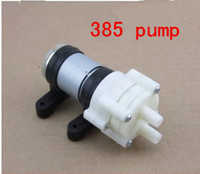 Wholesale Aquarium R385 Laptop DC Diaphragm Water cooled v mini small aquarium pump pumps