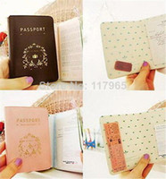 Wholesale Min order is mix order Travel brief elegant Utility Simple Passport ID Card Cover Holder Case Protector Skin PVC BG007