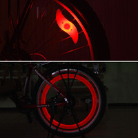 Wholesale 4pcs MIX LED Flash Light Neon Lamp Night Bike Car Tire Tyre Wheel Valve Caps Mode Wheel Light White x CR2032