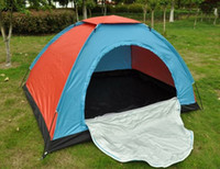 Wholesale Factory direct single round door outdoor camping tents leisure tent Hiking Entertainment Supplies One Bedroom Four season Tent Tents and She