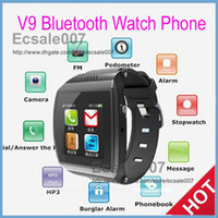 GSM850 Dutch with WiFi Fashion New V9 VS U9 Single Sim Card Watch Cell Phone IPS HD Touch screen MP3 MP4 Watch Mobile Phone FM